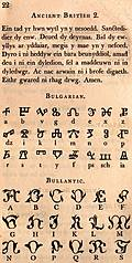 [picture: Page 22: Ancient British 2; Bulgarian; Bullantic]