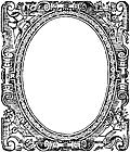 Cartouche or frame from title page of Concordance