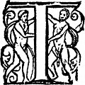 [picture: Initial Letter T With Naked People]