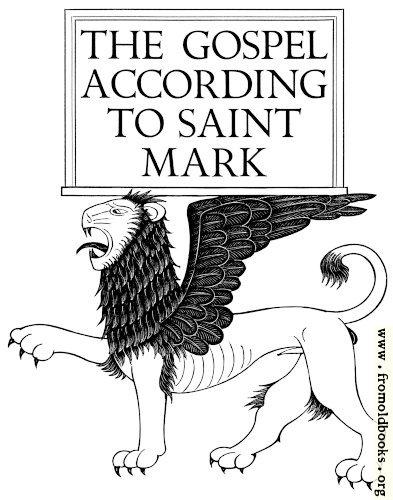 [Picture: Gospel of Mark]