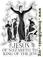 Engraving: Jesus King of the Jews