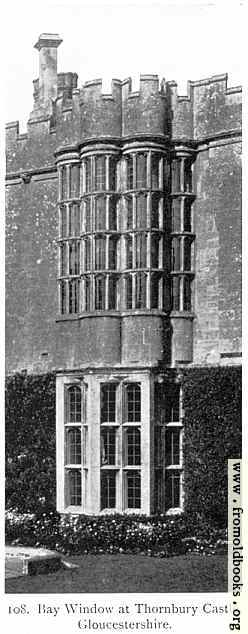 [Picture: Bay Window at Thornbury Castle, Gloucester.]