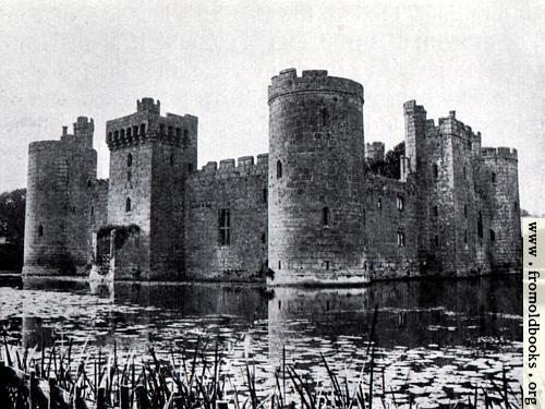 [Picture: 18.  Bodiam Castle, Sussex (1386)]