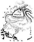 [picture: Peak Castle, Derbyshire: Plan of the Site.]