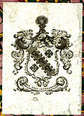 Bookplate (ex libris) from Volume III, colour version