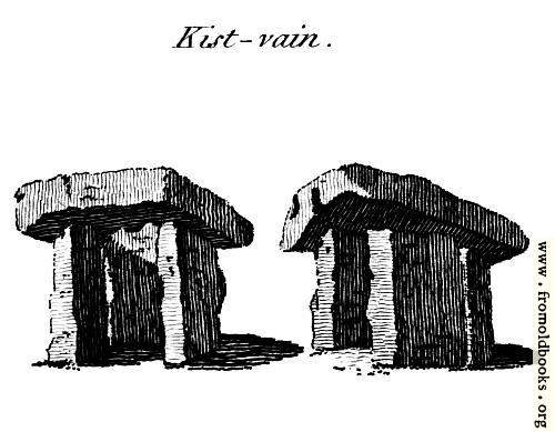[Picture: Kist-vain, from the Druidical Antiquities plate]