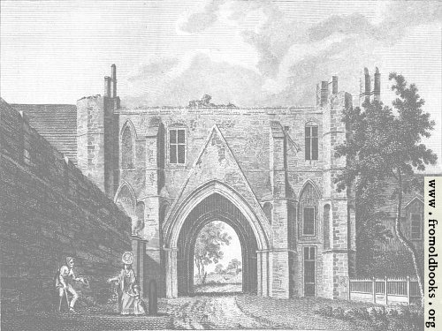 [Picture: Reading Abbey (Background 3)]