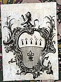 Bookplate with Crest