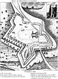 Plan of Donnington Castle.