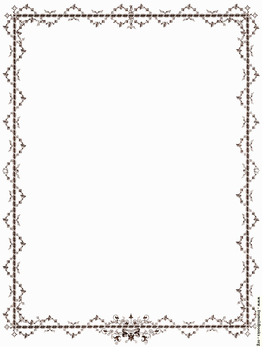 Victorian Page Borders