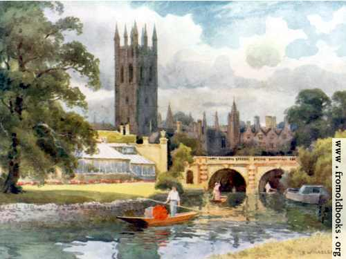 [Picture: Magdalen College from the River Cherwell]