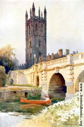 [Picture: Magdalan Bridge and Tower, Oxford]