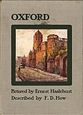 Front Cover, Oxford Pictured by Haslehust, described by How
