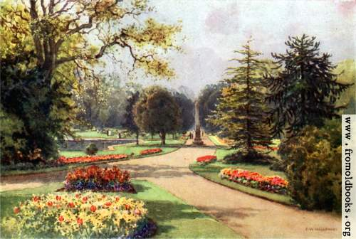 [Picture: In the Jephson Gardens, Leamington]