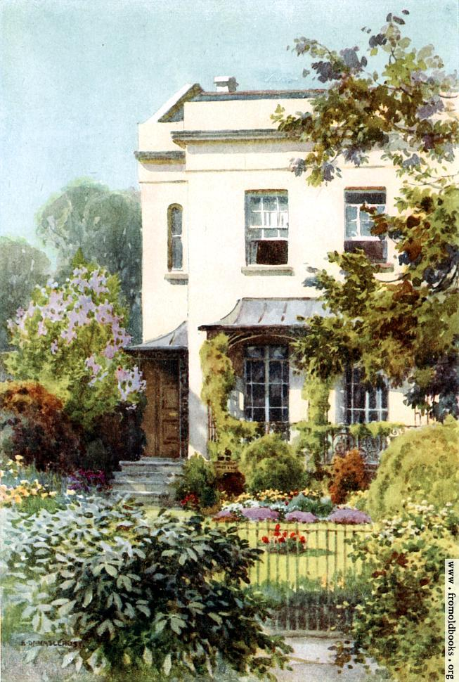 [Picture: Nathaniel Hawthorne's House]