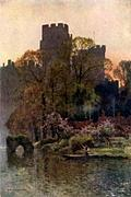 [picture: Warwick Castle from the River]