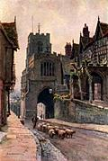 [picture: West Gate, Warwick]