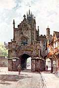 [picture: The East Gate, Warwick]