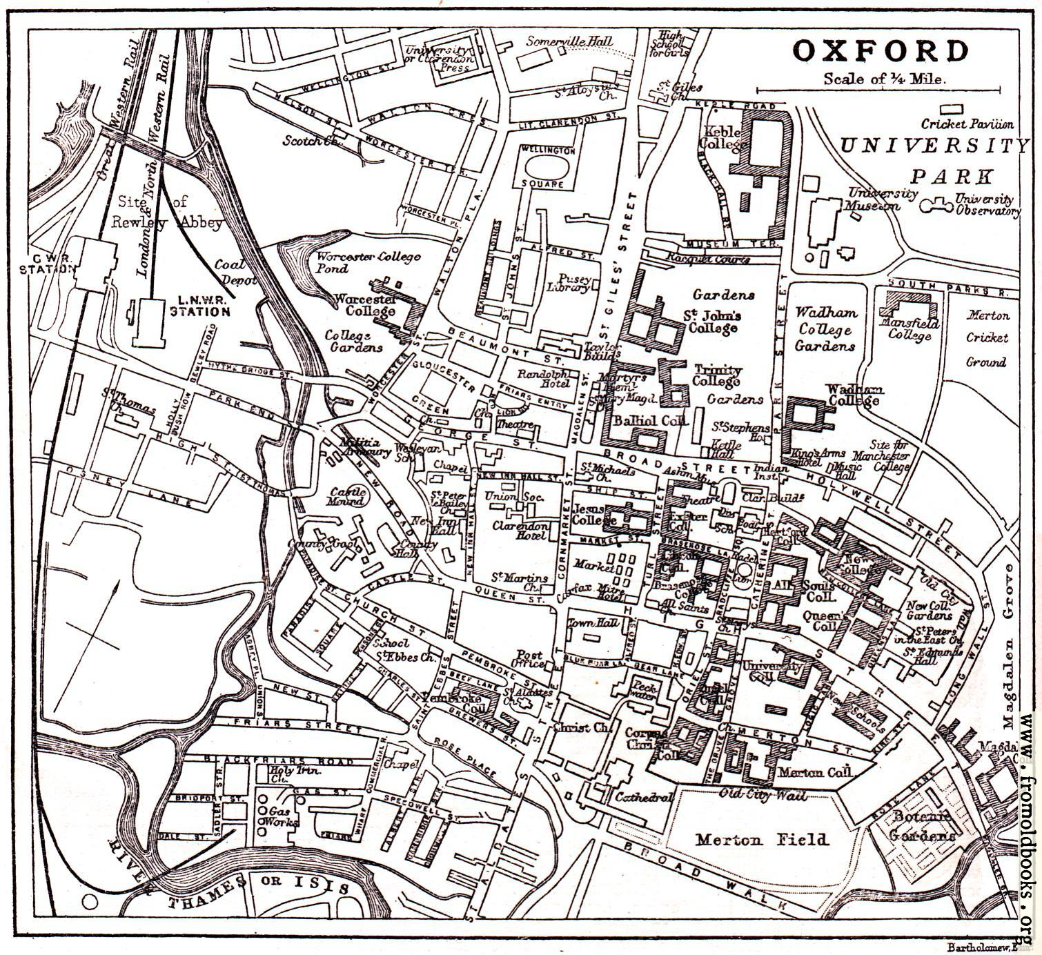 pages oxford plan