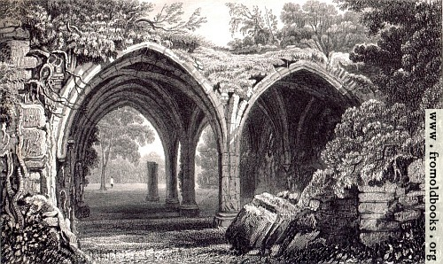 53 remains of cloisters of margam abbey 500x298