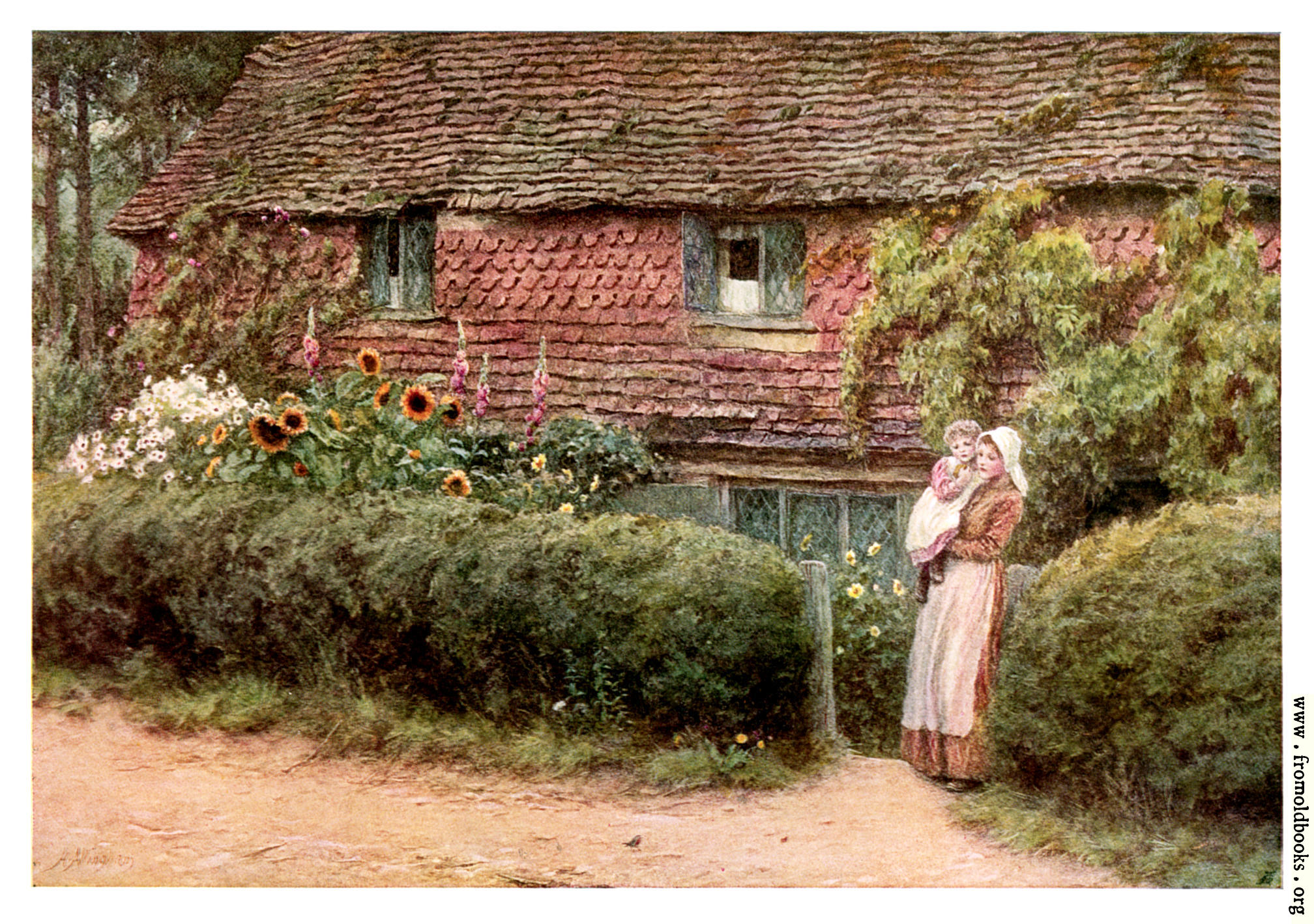 Haslemere surrey for Pictures of english country cottages