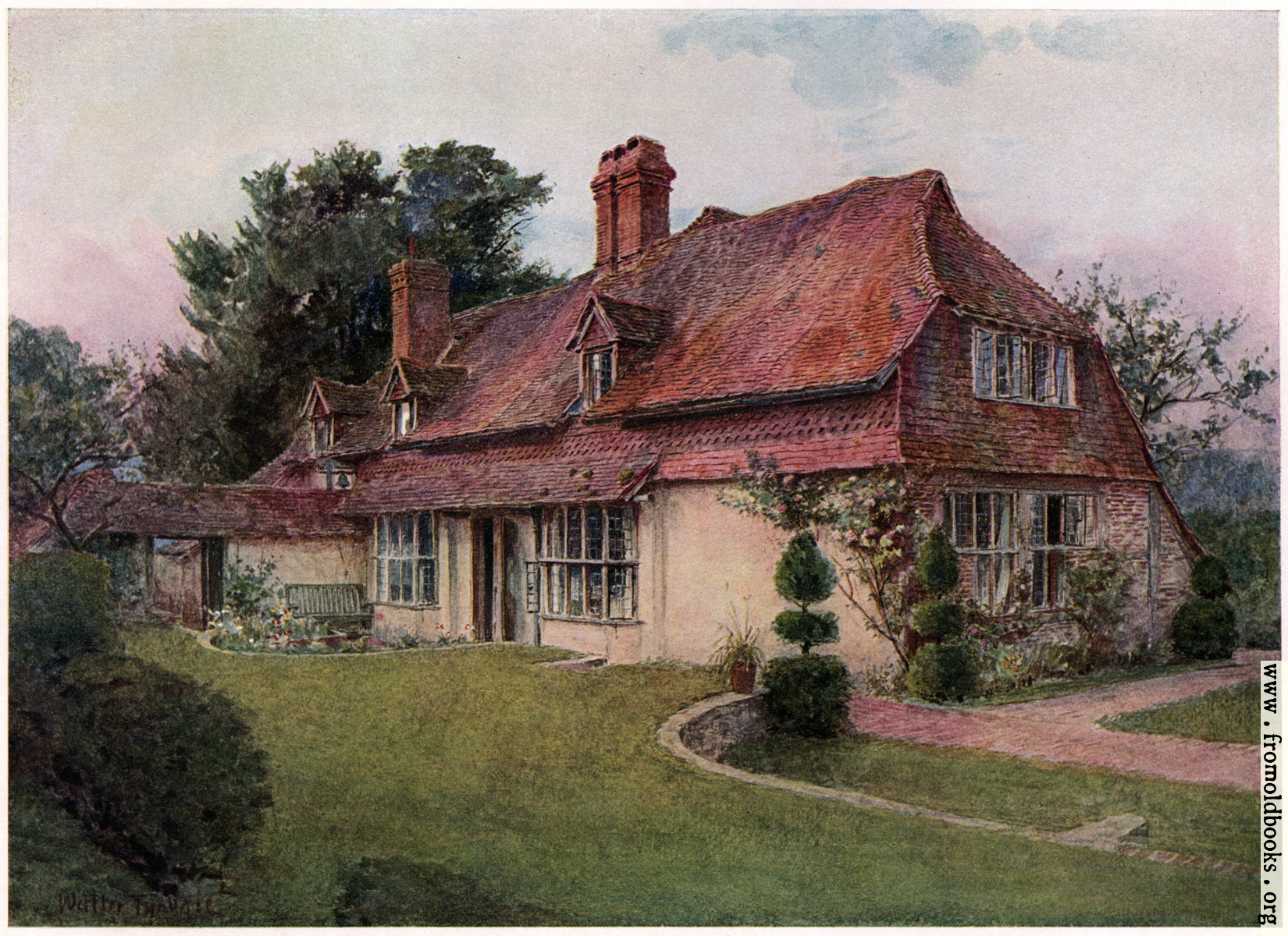Image gallery old english country cottage for Pictures of english country cottages