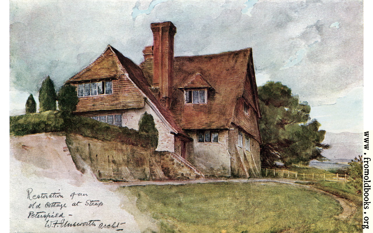 Restoration Of Old Cottage At Steep Petersfield