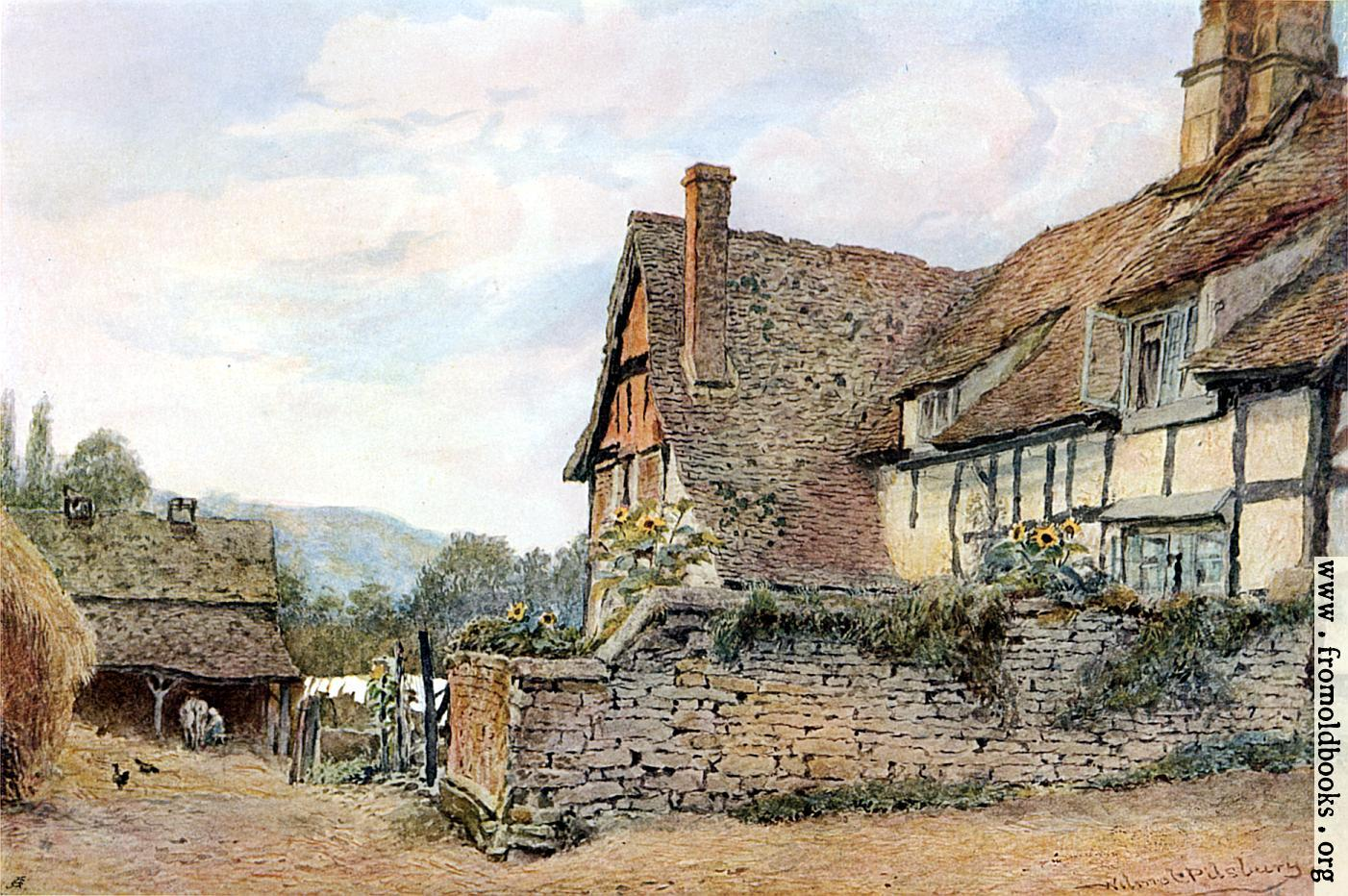 Pershore worcestershire for Pictures of english country cottages