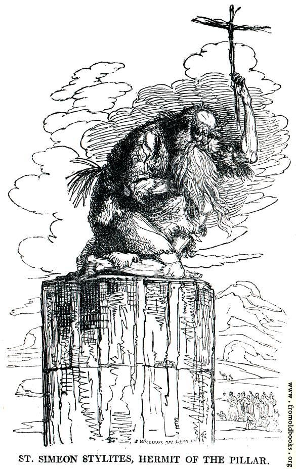 St Simon Stylites Hermit of the Pillar