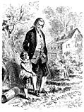 Washington and his Father