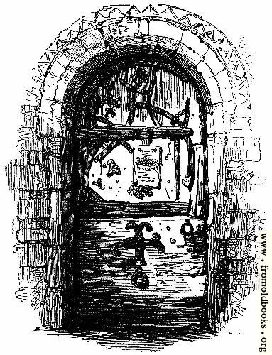 [Picture: Door, Skipworth Church]