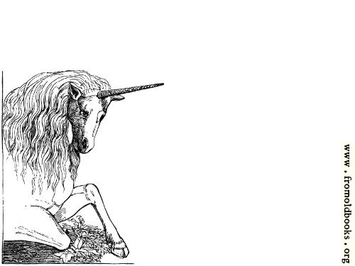 [Picture: Kneeling unicorn]