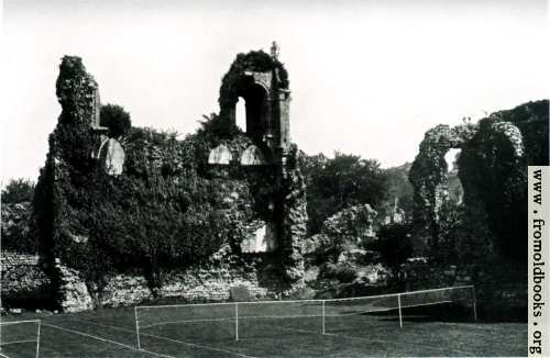 [Picture: Wolvesey Castle]