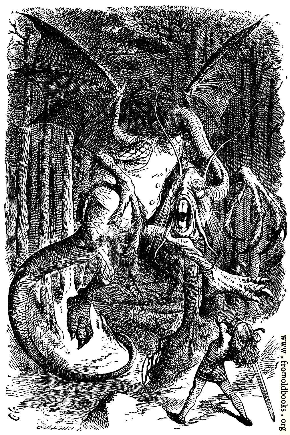 [Picture: The Jabberwocky]