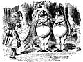 [picture: Tweedledum and Tweedledee]