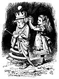 [picture: Alice and the White Queen Addressed]