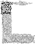 [picture: Mediaeval Border from Title Page]