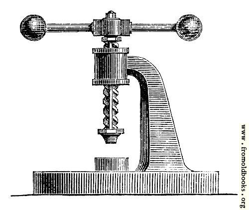 [Picture: 59.---Screw Press.]