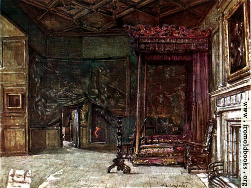 [Picture: The Apartments of Mary Queen of Scots in Holyrood Palace]