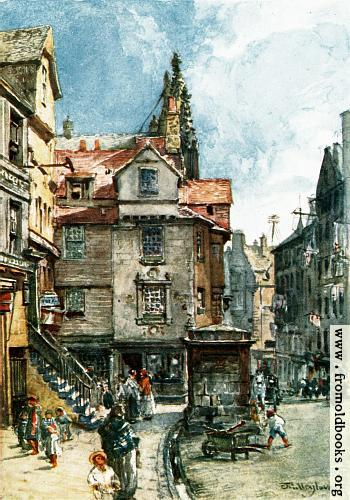 [Picture: John Knox's House, High Street]