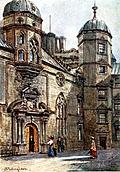 [picture: Quadrangle of George Heriot's Hospital]
