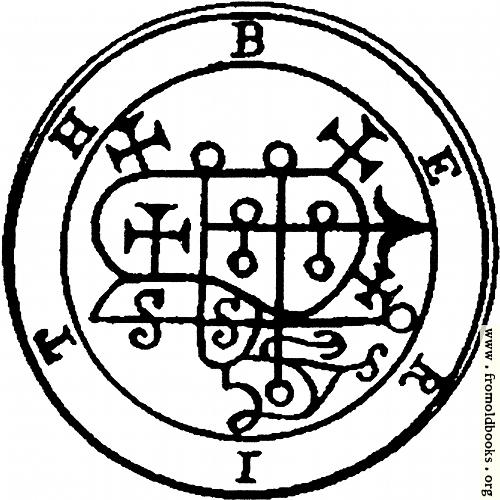 28. Seal of Berith. Baal Berith Demon