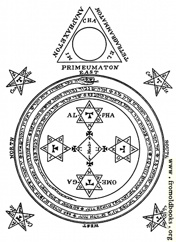 [Picture: The Magical Circle of King Solomon]