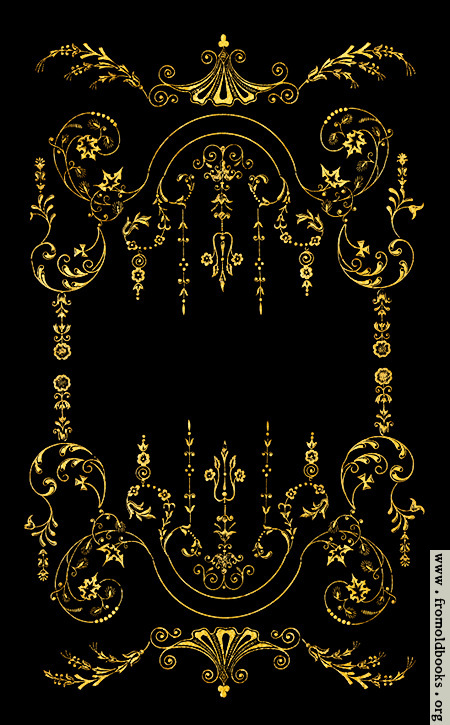 Victorian Corner Border Victorian Border Gold on