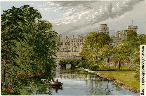 [Picture: Warwick Castle.---Earl of Warwick]