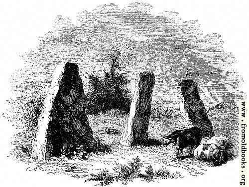 43.—Harold's Stones, Trelech, Monmouthshire