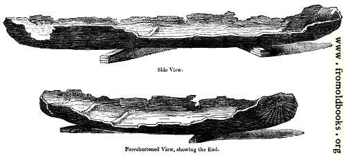 [Picture: 57.---Ancient British Canoes.]