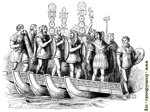 82.—Roman General, Standard Bearers, etc.