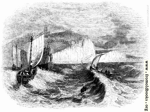 [Picture: 90.---Dover Cliffs.]