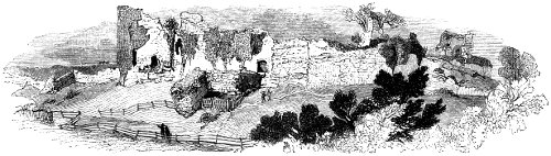 105.—General View of the Ruin of Pevensey Castle.